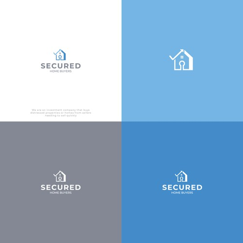 Logo Design For Secured Home Buyes
