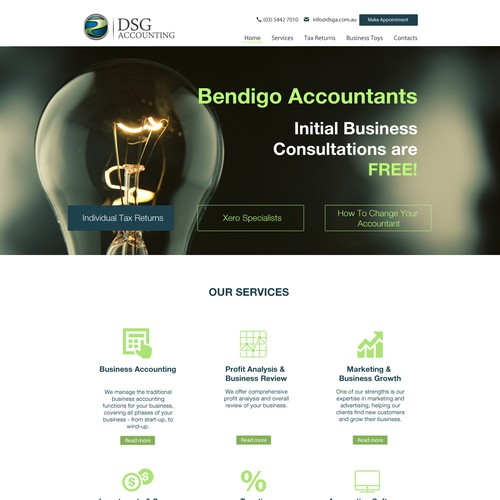 Make an accounting firm look more awesome