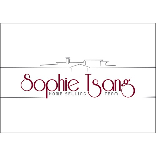 Sophie Tsang real estate logo business card
