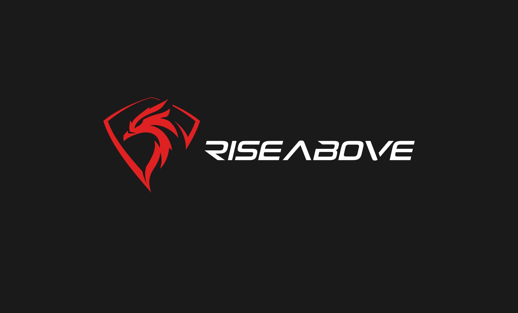 RISEABOVE fitness brand needs powerful logo