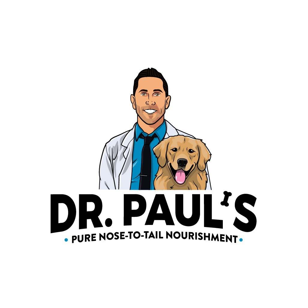 Creative nose-to-tail dog food logo to level-up nutrition for dogs!