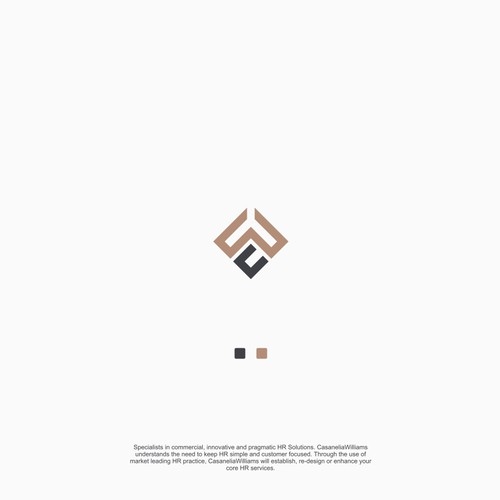 Simple and Elegant with luxurious colors adds to its own charisma from this logo.