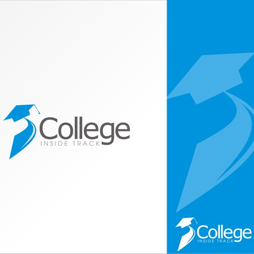 Create a logo that will attract families of HS students who want to go to college
