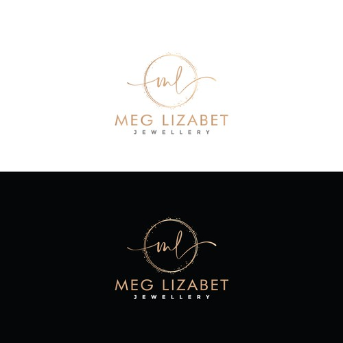 Feminine design for an indie jewellery brand.