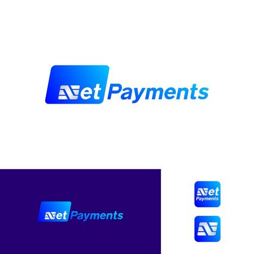 Net Payments logo design