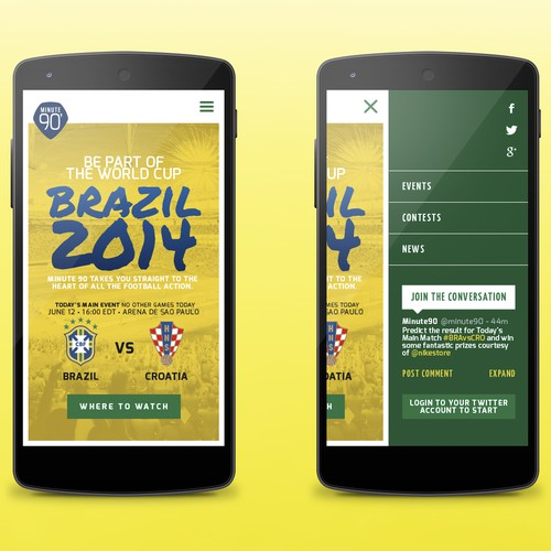 Brazil World Cup 2014: news and events website