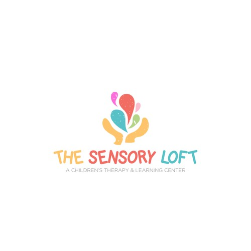 Color Logo for a Children's Therapy Center