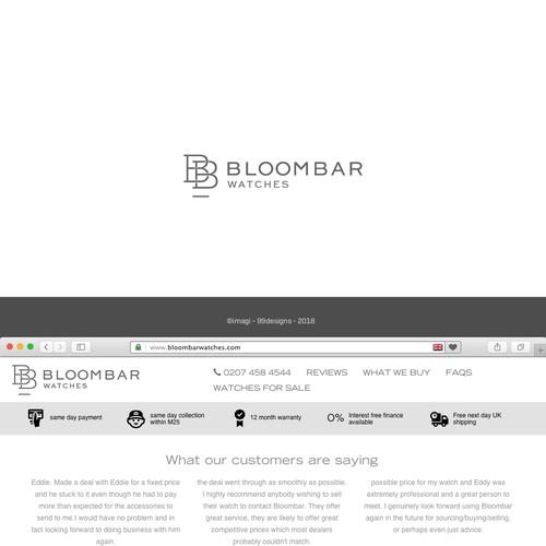Logo for established, luxury watch retailer
