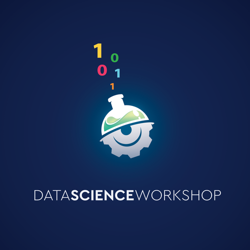 Logo concept for a data workshop company