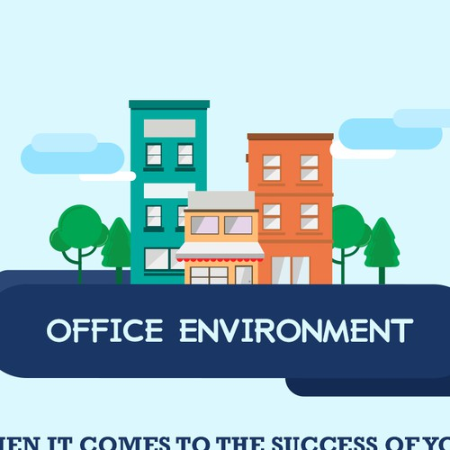 Office Environment Infographic