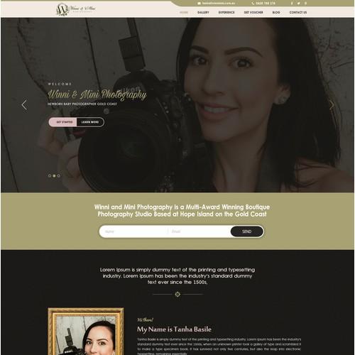 Homepage design 2016