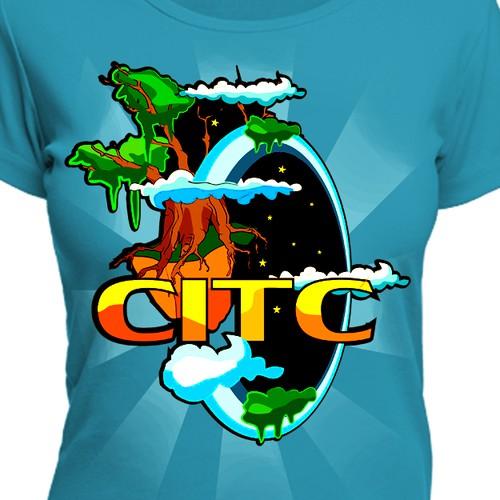 T-shirt design for Google