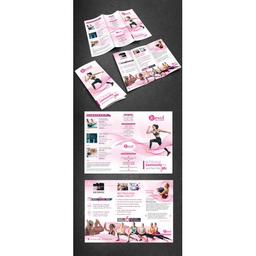 Women Only Gym Brochure