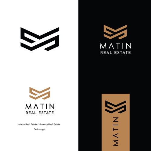 Design Luxury Real Estate Brokerage Logo
