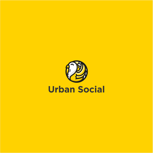 Playful logo for NYC based social media