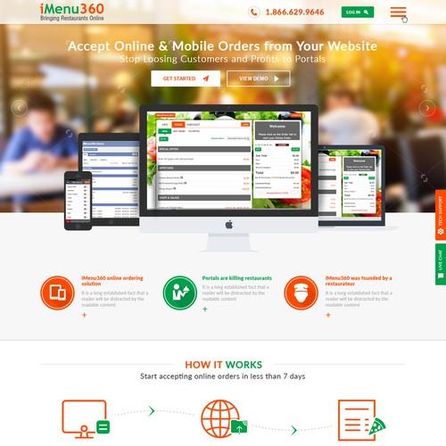 iMenu 360 Website Redesign