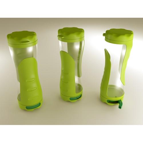 Unique Water Bottle Design for Athletes