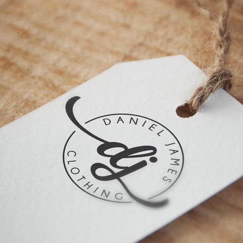 Fashion Logo/ Brand Identity | Daniel James Clothing Brand