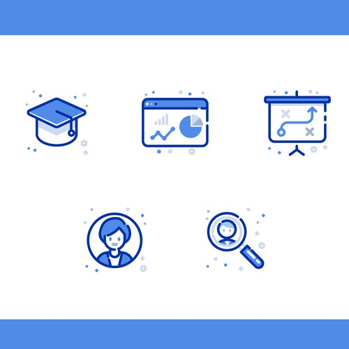 Icon Set for Business Education
