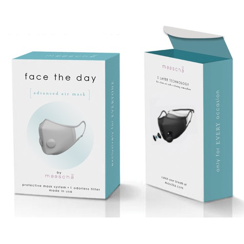 Packaging for Face Mask and Filters