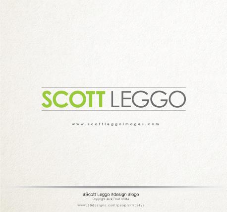A fresh new logo for the personal brand of Scott Leggo