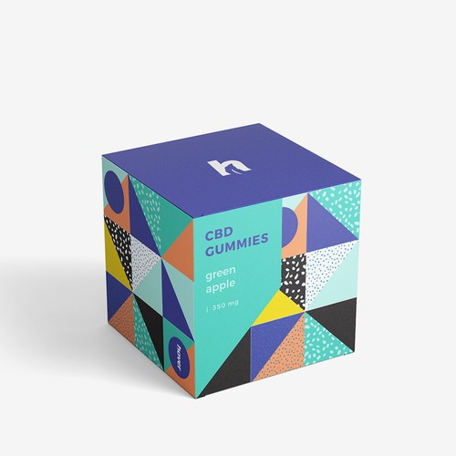Square Box for CBD Product
