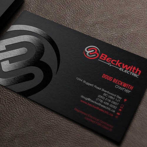 Stationery Business Card For Beckwith Electric