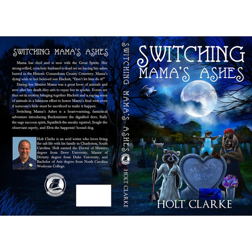 Create a Standout Book Cover for Switching Mama's Ashes