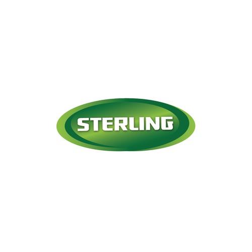 Dark logo for Sterling company