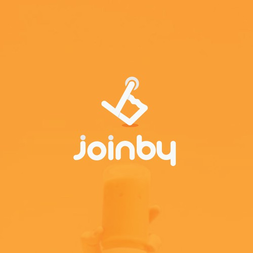 simple and unique logo for Joinby