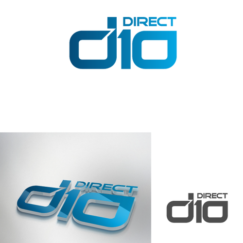 Create a logo for a Pro Construction Material site called D10Direct