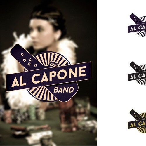 Create logo for Live Music Band - Al Capone Band