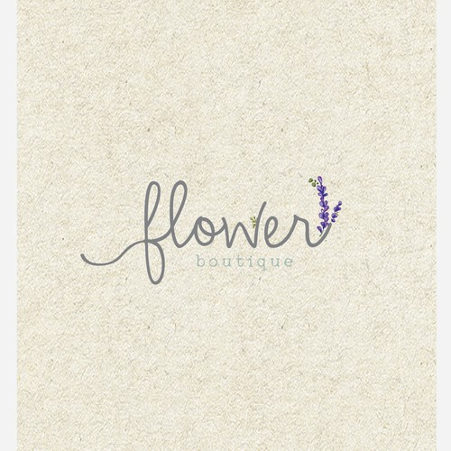 bold logo concept for floral industry