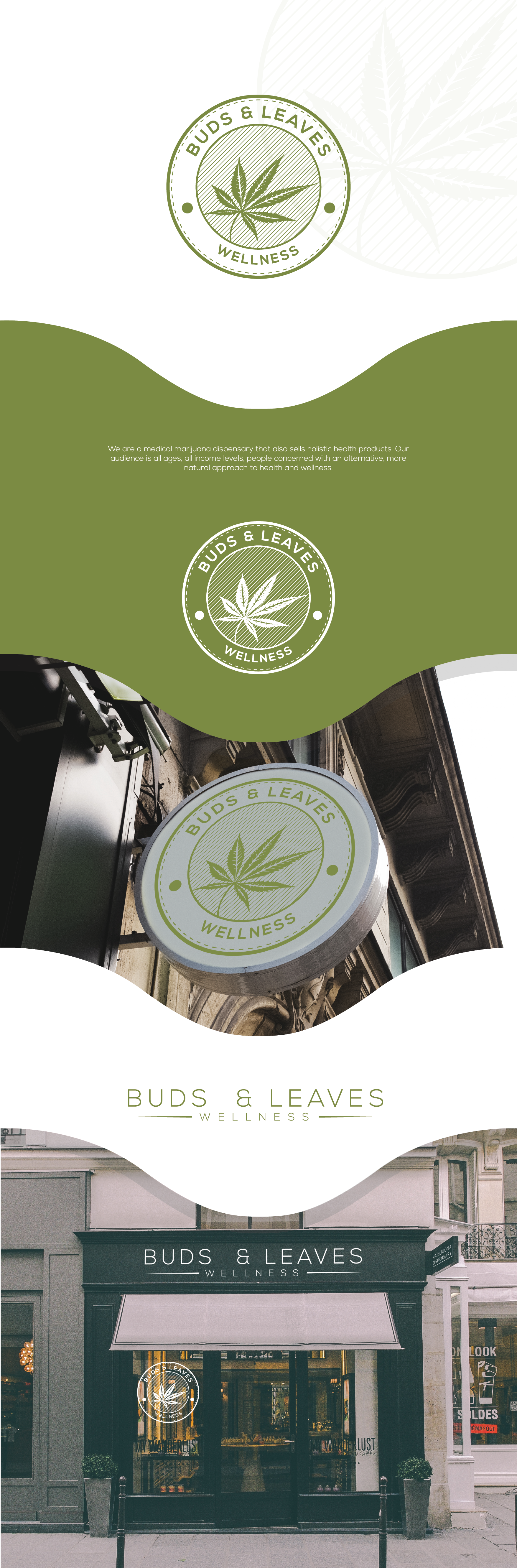 Buds & Leaves - our dispensary needs an awesome new logo!