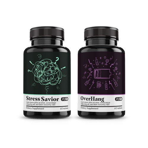 Dietary Supplement Label Design Targeted to Millenials