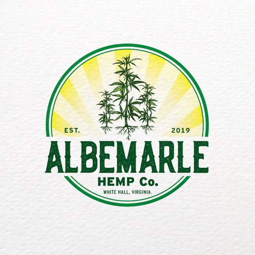 Bold logo concept for Industrial Hemp Company