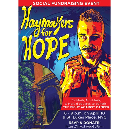 Haymakers for Hope Invitation
