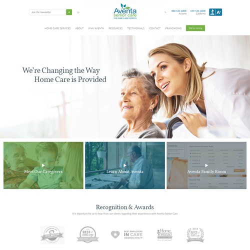 Wordpress theme for medical company