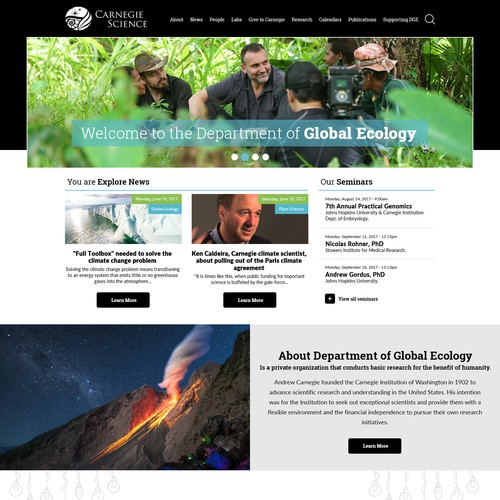 Carnegie Science | Department of Global Ecology