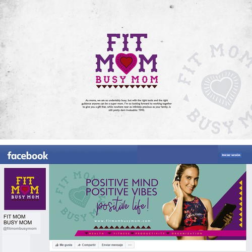 Design Contemporary/Kitsch Mexican Logo and Social Media to Fit Mom Busy Mom