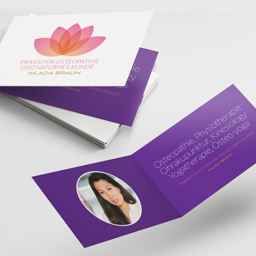 Logo & Folded-business card