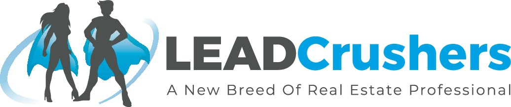 Help me create a design for a new bread of Real Estate agents called LeadCrushers