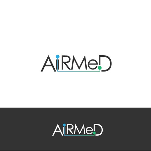 Winning design - for Artificial Intelligence Health Company - AirMed
