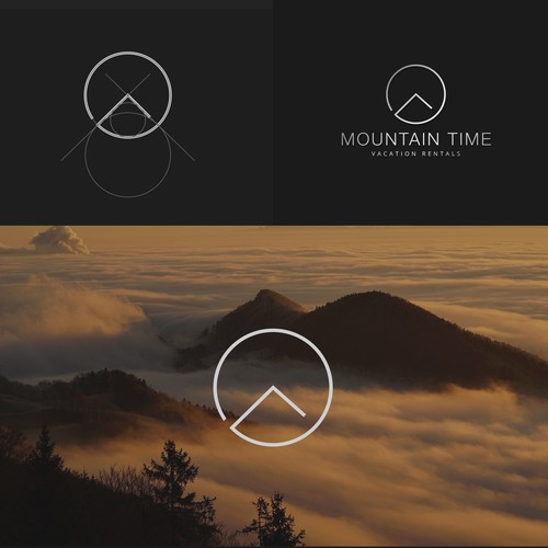 Logo for mountain time project