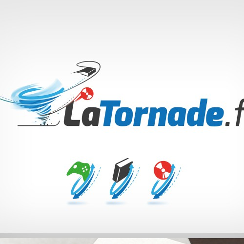 Logo for Swap Website (Tornado)