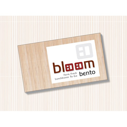 logo for Bloom Bento