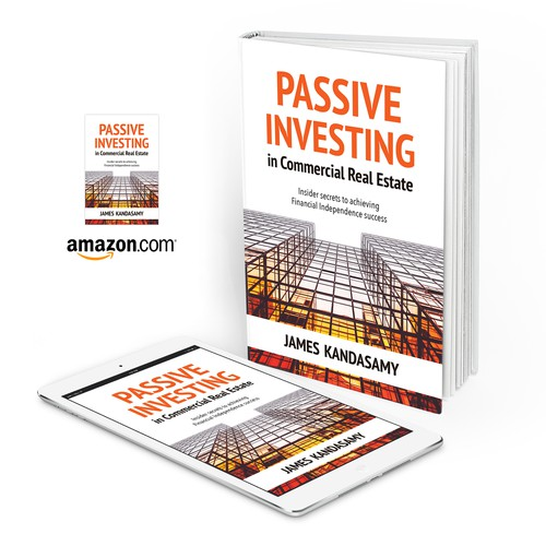"Book cover for ""Passive Investing in Commercial Real Estate"""