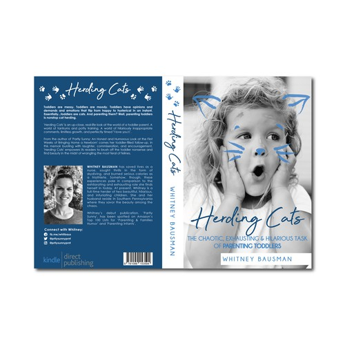 """Bookcover for  """"Herding Cats"""""""