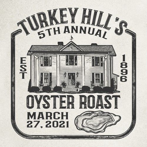 T shirt for Southern Oyster Roast