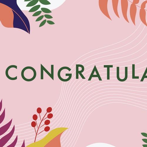 Congratulation Card